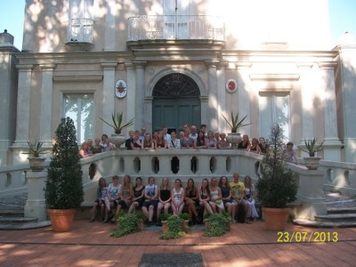 Villa Lante Day 23 July 2013